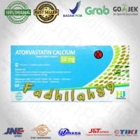 Obat Kolesterol - Atorvastatin. 10 Mg HJ Per Box ORIGINAL