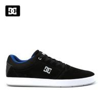 Sepatu DC Crisis Sneakers Kasual pria black blue Original