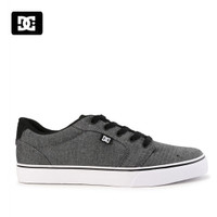 Sepatu DC Anvil Sneakers Kasual pria grey Original