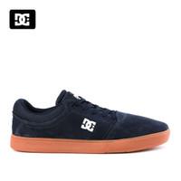 Sepatu DC Crisis Sneakers Kasual pria Navy Gum Original