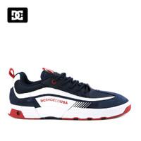Sepatu DC Legacy 98 Sneakers Kasual pria navy multi Original