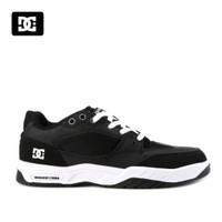 Sepatu DC Maswell Sneakers Kasual pria black white Original