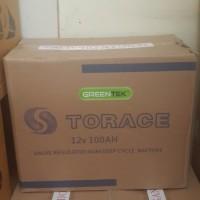 Accu / Baterai VRLA Greentek 12v 100AH 12volt