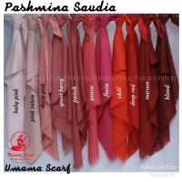 Jilbab Pashmina saudia umama scarf Size 75 x175 cm