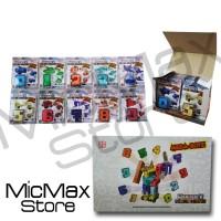 EMCO Mega Botz Pocket Morphors Morphers Numbers Set Satuan Mainan Orig