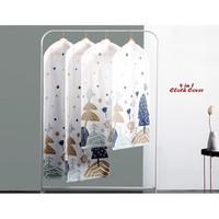 4 in 1 Cloth Cover motif POHON (1 set isi 4 cover ukuran berbeda)