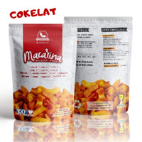 Macarina (Macaroni Nagih) Exsclusive Rasa Chocolate Cemilan/Snack Hitz