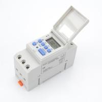 Timer Digital Programmable Switch Din Rail Model MCB 220V AC 16A