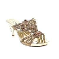 Sandal Pesta Ivory 9811-AF3 Gold