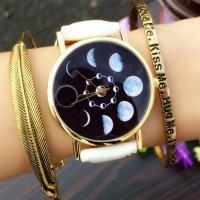 Sale [hot]Lady Wrist Watch Women Fashion Moon Quartz