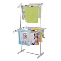 Jemuran Baju Stand Hanger Multifungsi Towel Rack Bahan Stainless Stell