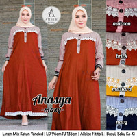 grosir baju anasya maxy linen