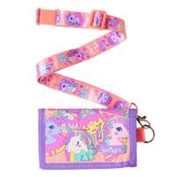 Smiggle Hooray Junior Lanyard Wallet Unicorn - Dompet Anak