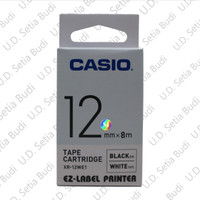 PROMO !!! CASIO EZ-Label Printer 12mm Putih