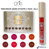 [ECER] ONIE DREAM LIQUID LIP MATTE / LIP CREAM MATTE