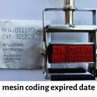 Mesin Coding Expired Date - Stempel Manual | Nichia Stamper
