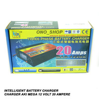 Intelligent Battery Charger - Charger Aki Mega 12 Volt 20 Ampere