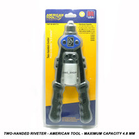 Two-Handed Riveter - American Tool - Maximum Capacity 4.8 mm