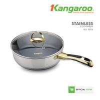 Kangaroo Frypan Stainless KG585S bagus dan murah