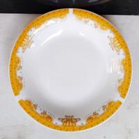 Piring Makan Omega Gold 24 cm Mahkota