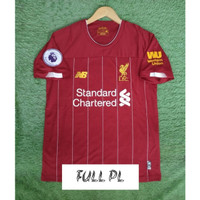 FULL PATCH EPL JERSEY BOLA LIVERPOOL HOME 2019/2020 GRADE ORI
