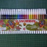 Spidol Snowman 24 Warna