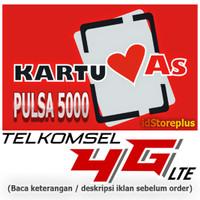 Grosir Kartu Perdana KARTU AS Telkomsel 4G LTE Super Murah Meriah