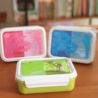 Kotak makan PLASTIK 1.25 L / Tempat makan FOOD GRADE BPA FREE TEDEMEI