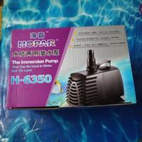 aquarium kolam ikan pompa celup water pump HOPAR H 6350