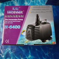 aquarium kolam ikan pompa celup water pump HOPAR H 6400