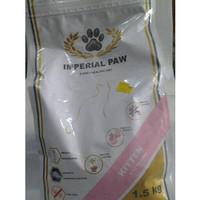 makanan kucing super premium imperial paw kitten 1,5 kg