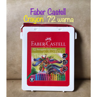 ATK695FC 72 warna crayon Faber Castell Hexagonal Oil Pastel color asli