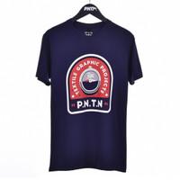 BOUNDS / Men Short Sleeves Tshirt Navy - Premium Nation Original