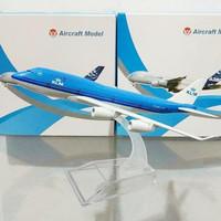 Diecast Pesawat B747 KLM