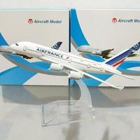 Diecast Pesawat A380 Air France