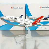 Diecast Pesawat A380 Qantas Australia