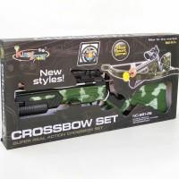 Crossbow set Mainan pistol panah