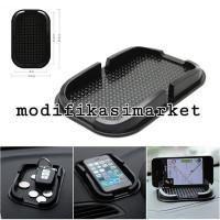 STICKY PAD ANTI SLIP HANDPHONE HOLDER DASHBOARD MOBIL TEMPAT HP KOIN