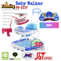 Family Baby Walker FB 211F Seri Beruang Musik Ayun SNI