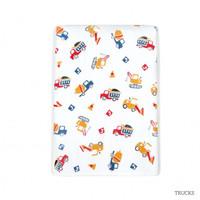 Little Palmerhaus Tottori Baby Towel - Trucks