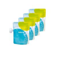 Kidsme Reusable Food Pouch 4 Pcs