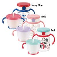 Richell AQ Straw Mug Set
