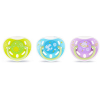 Kidsme Glow In The Dark Pacifier size S with Clip
