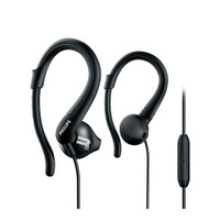 PHILIPS Sport Earphone with Mic - SHQ 1255 Black