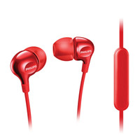 PHILIPS Earphone With Mic - SHE 3555 Red