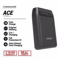 Delcell ACE Powerbank 10500mAh Original Resmi Delcell