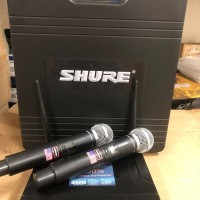 Wireless Mic Shure UK90 UK 90 Koper Hardcase utk Studio Recording