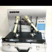 mic wireless shure glx 99 glx99 GOLD edition Plus Koper Hardcase