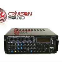 Power Ampli Amplifier Karaoke CRIMSON KA903 KA 903 USB Efek Echo