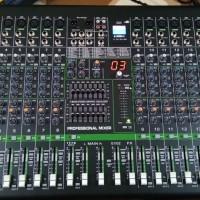 Mixer ASHLEY V16FX 16 Channel Full Mono USB Effect Reverb Digital